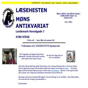Læsehesten - Møns Antikvariat