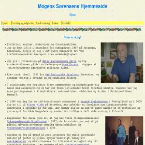 Mogens Sørensens Hjemmeside