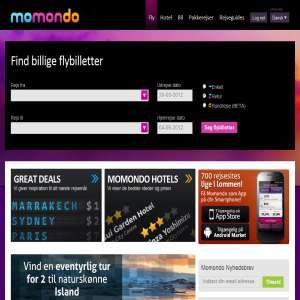 Momondo - billige flybilletter