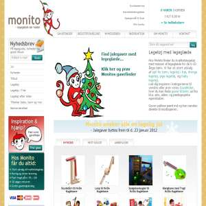 Monito.dk - udviklende legetøj