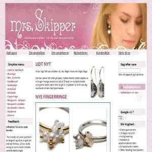 Mrs. Skipper - håndlavede smykker