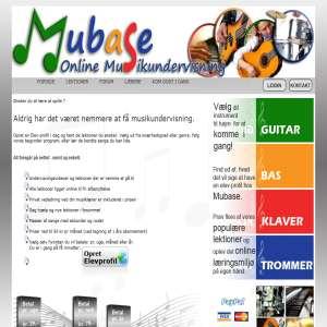 MuBase - Online musikundervisning
