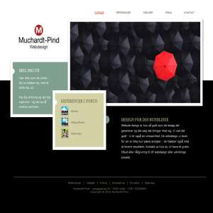 Muchardt-Pind Webdesign