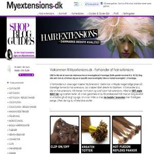 Myextensions.dk - Hair Extensions