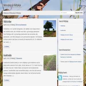 Vildtpleje og naturpleje