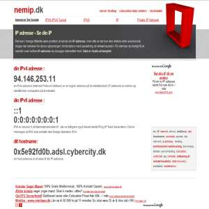 Nem IP - Find din IP-adresse