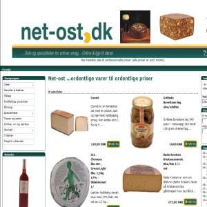 Net-ost direkte salg af gode oste