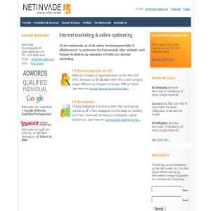 Netinvade.com - Online Markedsføring
