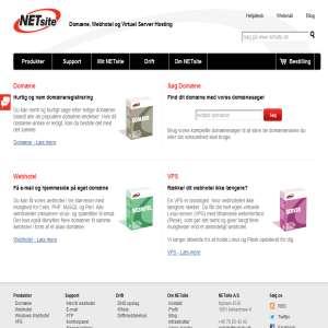 NETsite A/S - Domæne & Webhotel