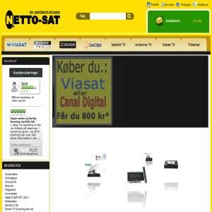 Netto-Sat - Parabol & Satellitudstyr