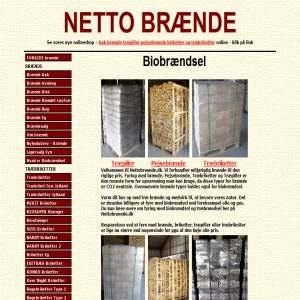 Netto Brænde - træpiller - træbriketter
