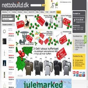 Nettobuild.dk - belysning, værktøj, el-artikler