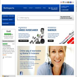 Nettoparts - Reservedele til hvidevarer