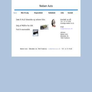 Nielsen Auto - Veteranbiler