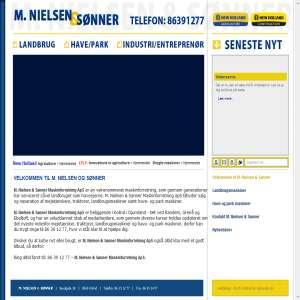 M. Nielsen & Sønner Maskinforretning ApS