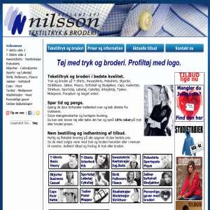 Nilsson Reklame ApS - Tekstiltryk og Broderi