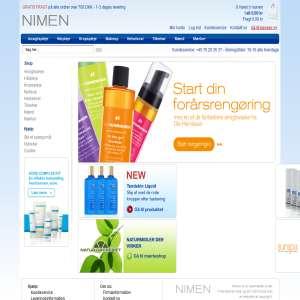 Nimen.dk - Hudpleje, Hårpleje, Make-up og helsekost