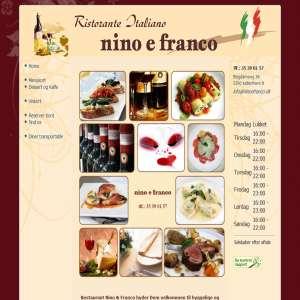 Restaurant Nino & Franco - Kbh N