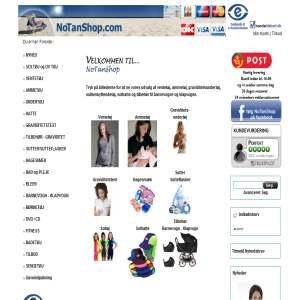 NoTanShop | Ventetøj og Ammetøj