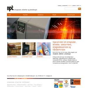 Stregkoder, labels og datafangst - Norris Print-Tech A/S
