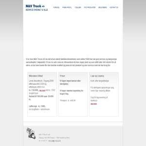 Brugte gaffeltrucks Nykøbing Mors - N&V A/S