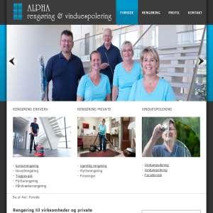 Alpha rengøring og vinduespolering