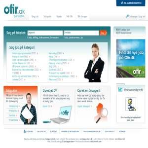 OFiR Job - Jobsøgning - CV database - Stillingsannoncer