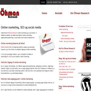Ohman Research