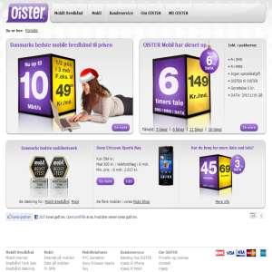 Mobilt internet og bredbånd - OiSTER