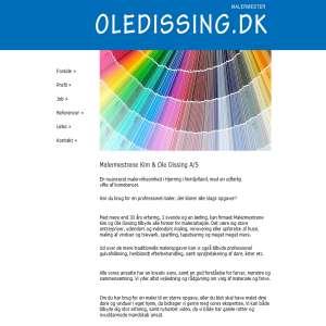 Maler Nordjylland - Malermester Ole Dissing