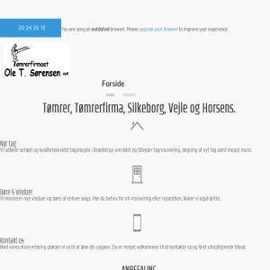 TØMRER & SNEDKER Ole T. Sørensen