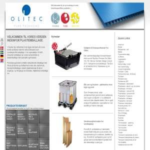 Transport emballage fra Olitec