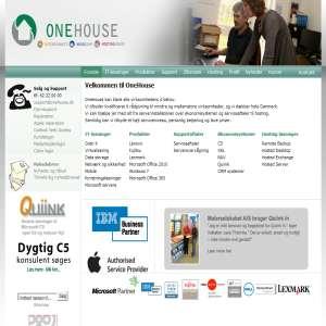 OneHouse - it-løsninger til erhverv