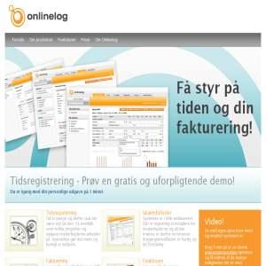 Onlinelog - Webbaseret tidsregistrering