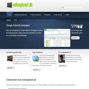 Onlineplanet.dk - konverteringsoptimering, søgemaskineoptimering og webanalyse