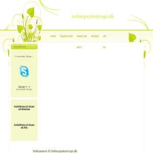 Onlinepsykoterapi.dk - Psykoterapi for par og individuelle - København
