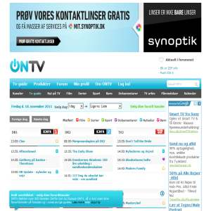 ONTV - din tv-guide på nettet
