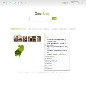 OpenHours - åbningstider
