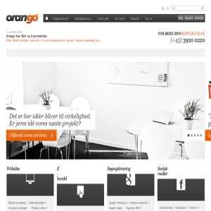 Orango din hjemmeside leverandør