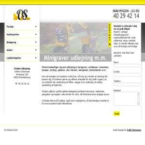 OSmini - udlejning af minigraver, minilæsser, motorbøre mm. i hele Østjylland