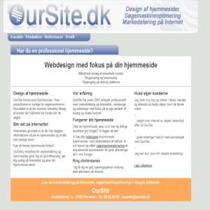 OurSite - Professionelt webdesign