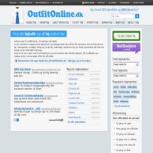 OutfitOnline - tøjbutikker på nettet