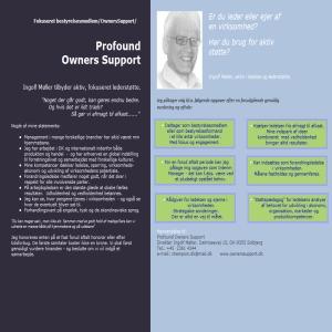 Fokuseret lederstøtte & Interim Management