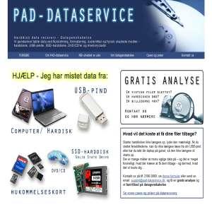 PAD Dataservice - Datagenskabelse