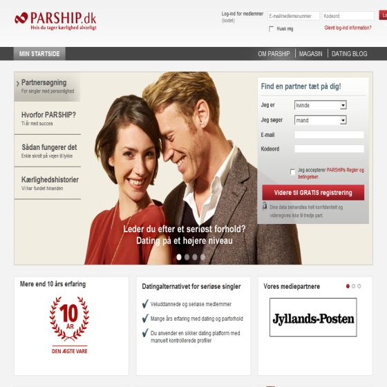 Online dating Service | Parship.dk