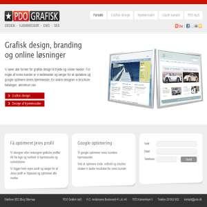 PDO Grafisk - hjemmsider der sælger mere...