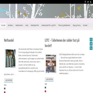 Pennys kreative blog og butik