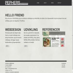 Pephers Webdesign