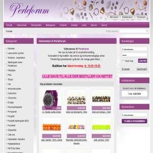 Perleforum - kreativ smykkefremstilling