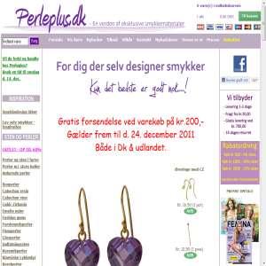 Perler til smykker og smykkefremstilling